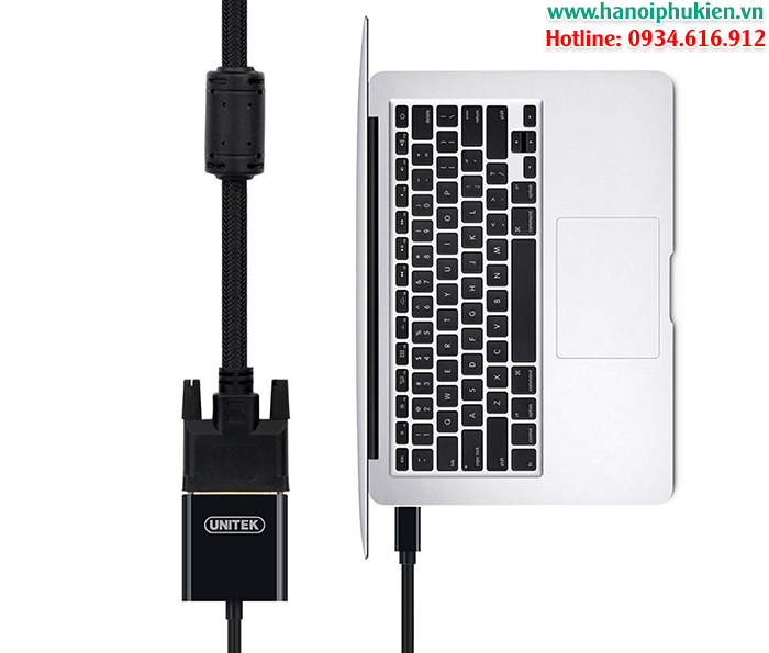 mini displayport to vga unitek y-6327bk